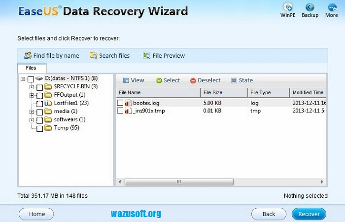 EaseUS Data Recovery Wizard 14.2.0 Crack + Key Torrent Full Download