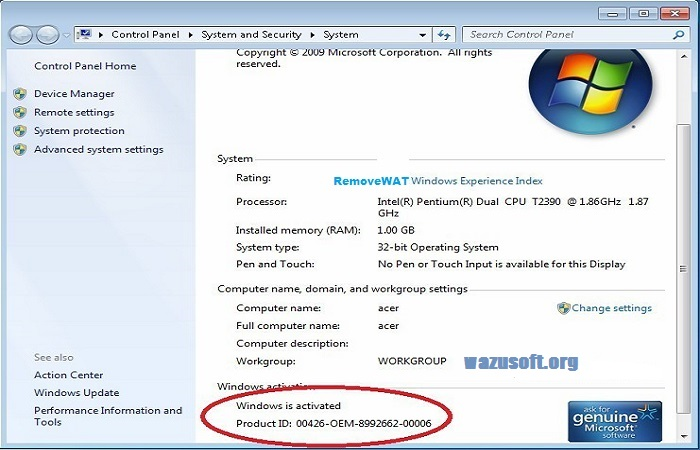 RemoveWAT 2021 Windows Activator Crack 100% For Free {All Versions}