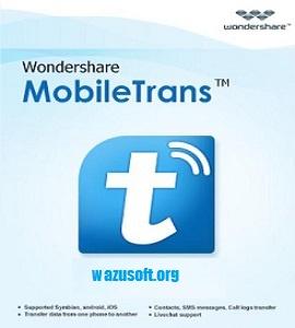 Wondershare MobileTrans Crack - wazusoft.org