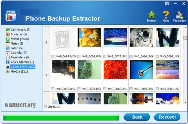 iPhone Backup Extractor Crack - wazusoft.org