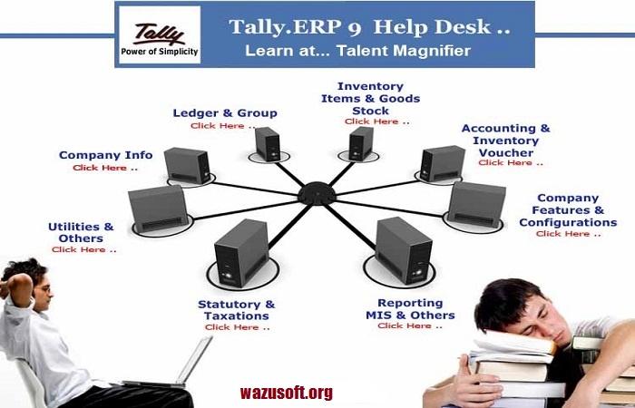 Tally ERP 9 Crack - Wazusoft.org