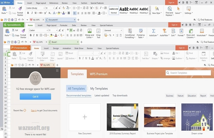 WPS Office 2021 Crack With Full Premium Key Torrent Latest Download
