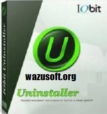 IObit Uninstaller Pro Crack - wazusoft.org