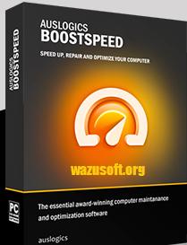 Auslogics BoostSpeed Crack - Wazusoft.org