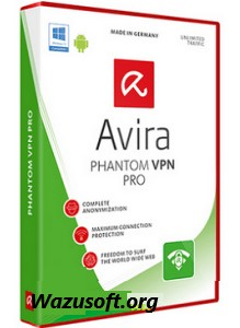 Avira Phantom VPN Pro Crack wazusoft.org