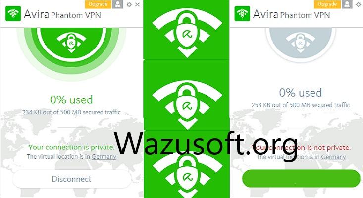 Avira Phantom VPN wazusoft.org