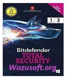 Bitdefender Total Security - Wazusoft.org