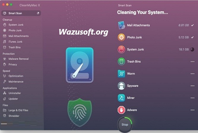 CleanMyMac X Crack Wazusoft.org