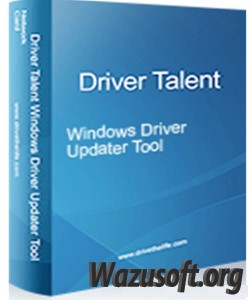 Driver Talent Pro - Wazusoft.org