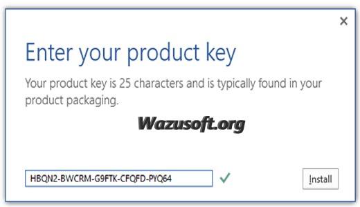 Microsoft Office Product Key - wazusoft.org