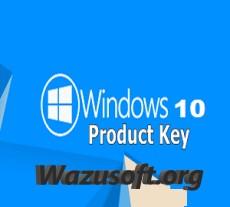 Windows 10 Product Key - wazusoft.org